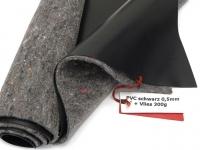 SIKA Premium PVC Teichfolie 0,5mm schwarz incl. Teichvlies V300