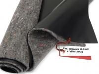 SIKA Premium PVC Teichfolie 0,5mm schwarz incl. Teichvlies V500