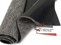 Sika Premium PVC Teichfolie 1,0mm schwarz incl. Teichvlies V500