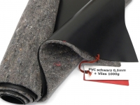 SIKA Premium PVC Teichfolie 0,5mm schwarz incl. Teichvlies V1000